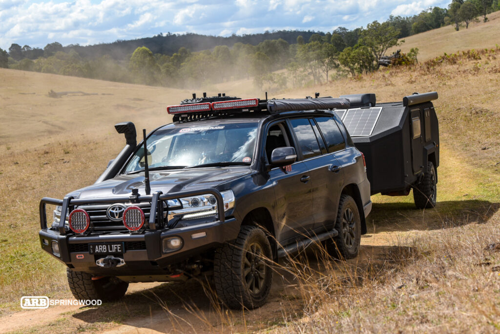 Mr Grey 200 Series and Bruder Exp-4 Expedition Trailer